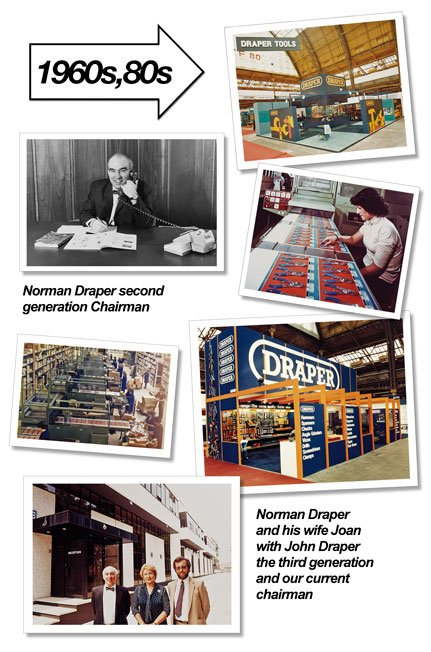 draper tools business a usual in chandler's ford, Hampshire 1980