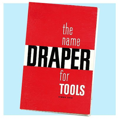the first draper tools catalogue