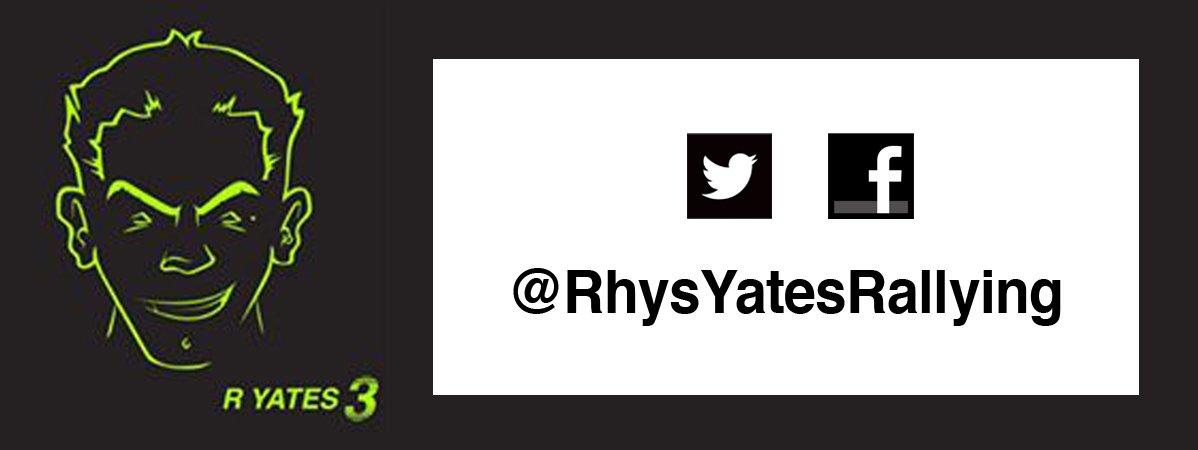 Draper Tools Sponsor Rhys Yates Rallying