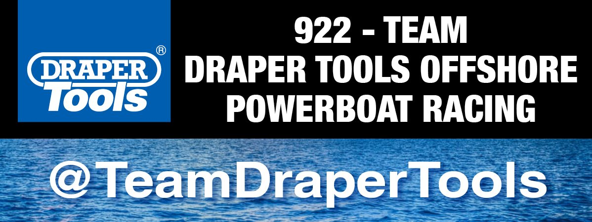 Draper Tools Sponsor 922 - Team Draper Tools Offshore Powerboat Racing